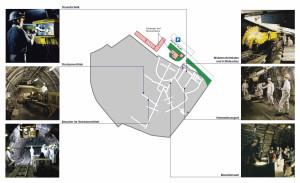 Streckenplan-Lehrbergwerk